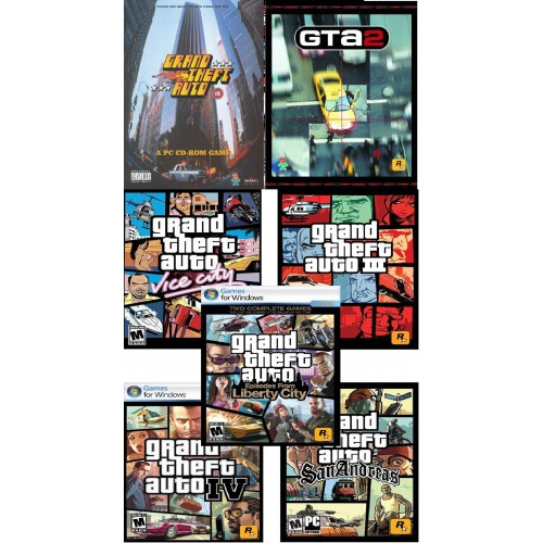 Rockstar GTA - Grand Theft Auto Complete Bundle