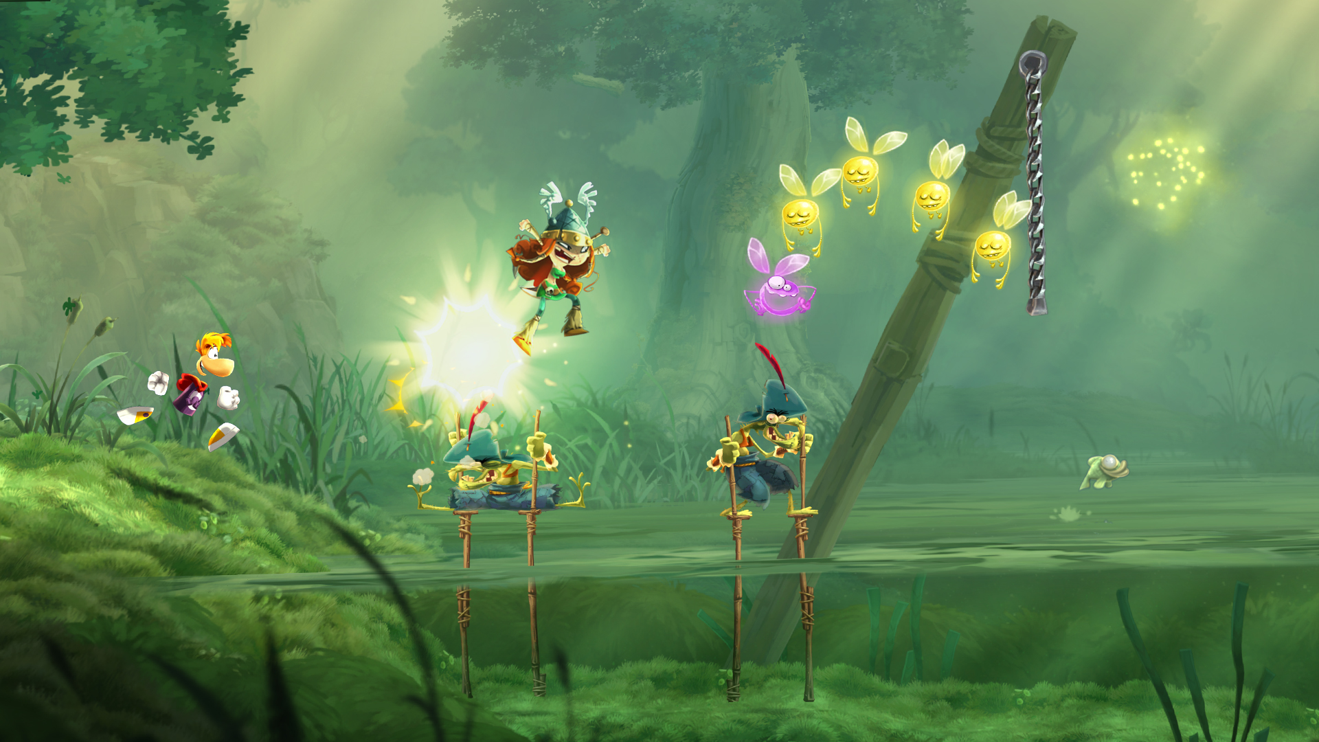 how to play rayman legends online