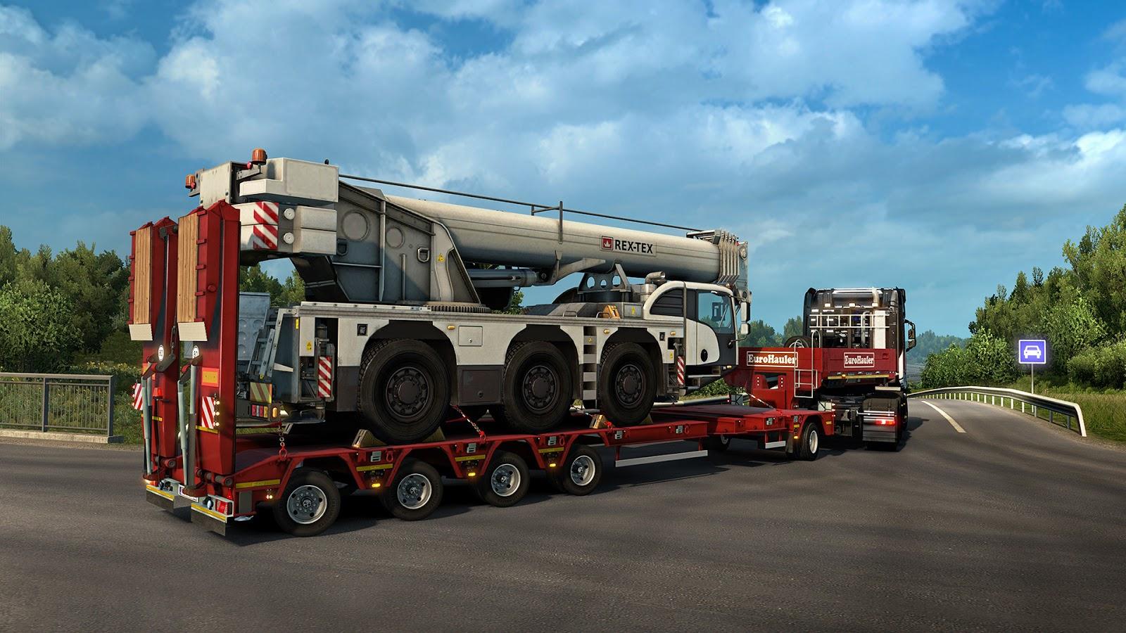 euro truck simulator 2 heavy cargo dlc pack online kaufen und sofort downloaden. Black Bedroom Furniture Sets. Home Design Ideas