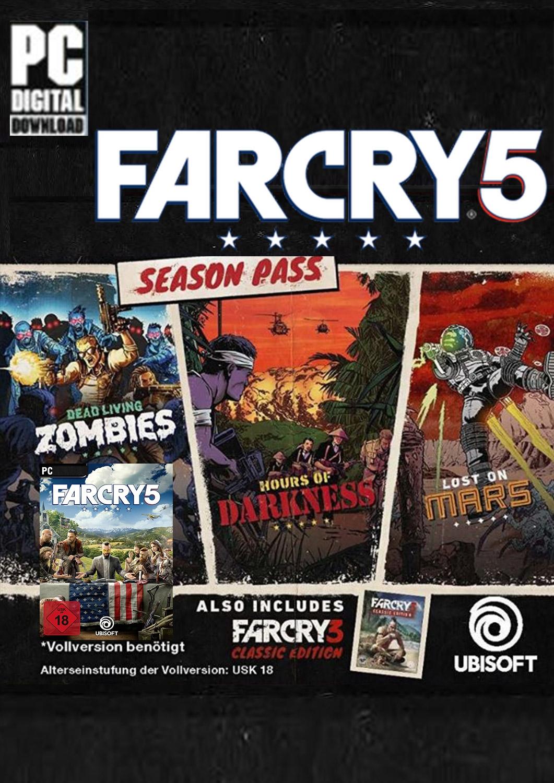 Far Cry 5 Season Pass als PC Download online kaufen