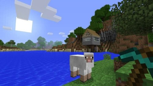 minecraft als playstation 3 edition download kaufen. Black Bedroom Furniture Sets. Home Design Ideas