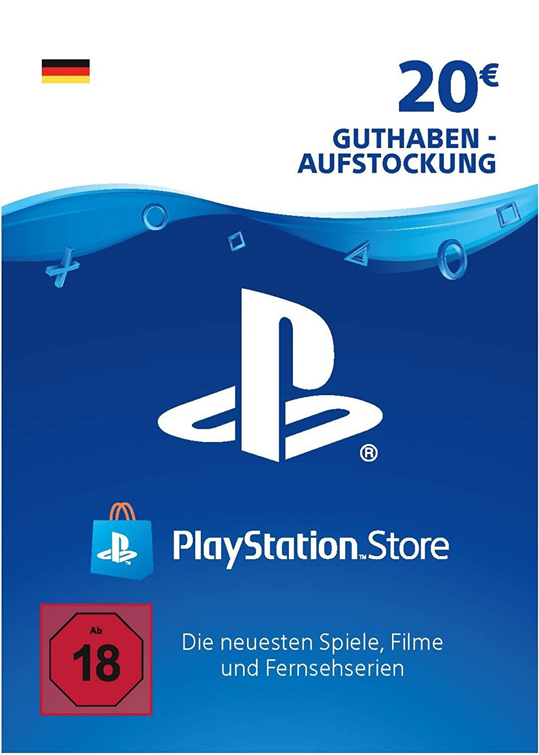 Playstation Network Card 50 Digital Code De 20 Online Kaufen Sofort Per Email